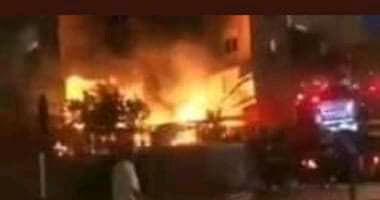 انفجار مبنى من ثمانية طوابق في تل أبيب
