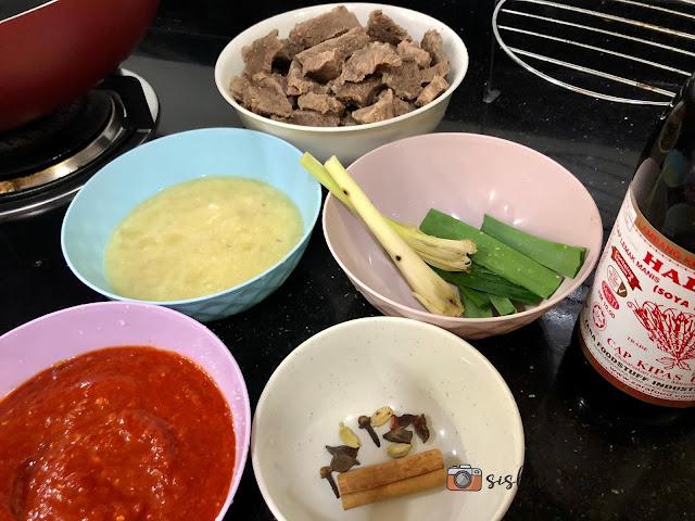 Resepi Daging Masak Kicap Pedas Che Nom Mudah Dan Sedap