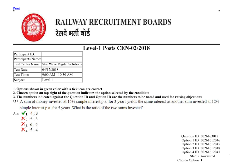 In d hindi paper pdf group question railway
