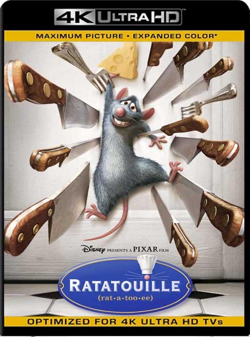 Ratatouille (2007) 4K 2160p UHD [HDR] Latino [GoogleDrive]
