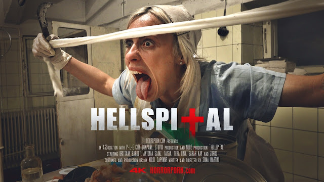 'Hellspital' / 'Hellspital 2': Brittany Bardot desata el infierno en el hospital