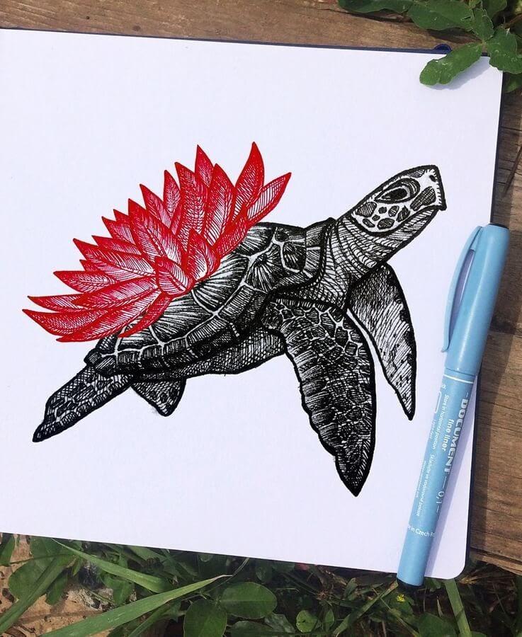 05-Sea-Turtle-Papa-Nory-www-designstack-co