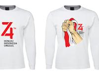 3 Ide Desain Kaos atau Baju HUT RI Ke 74 Tahun 2019