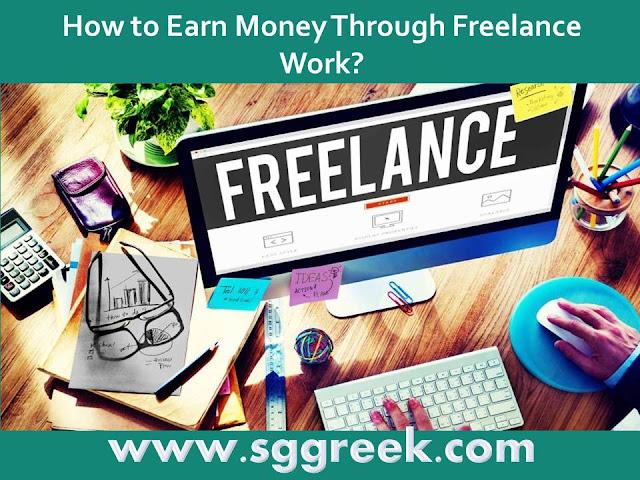 Earn Money by Freelance Work