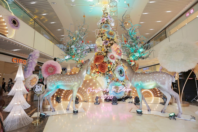 Christmas is in bloom at SM Aura Premier