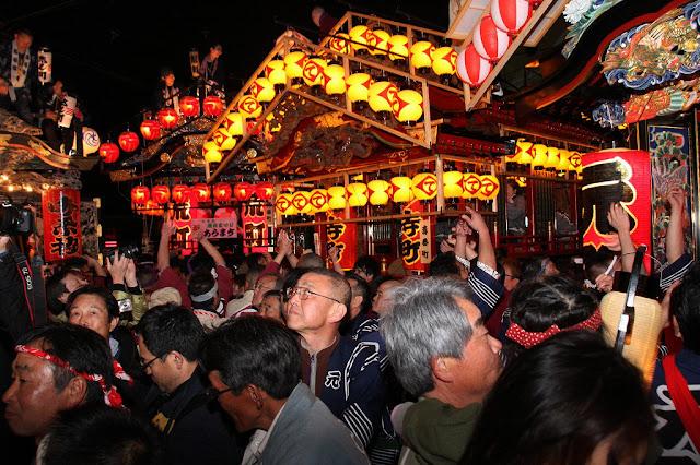 Yatai Matsuri (Mikoshi Float Festival) at Otawara, Tochigi