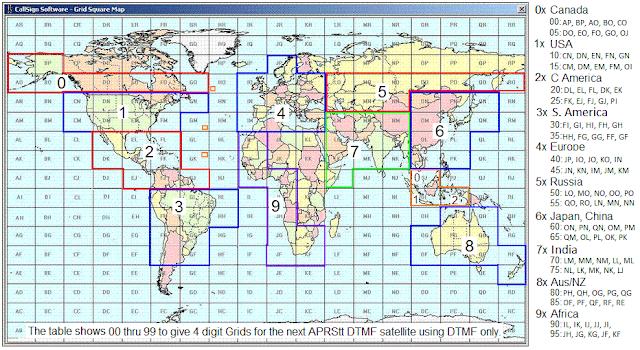 DTMF satellite ham radio
