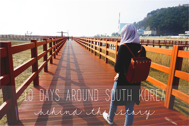 10 days around south korea: behind the story