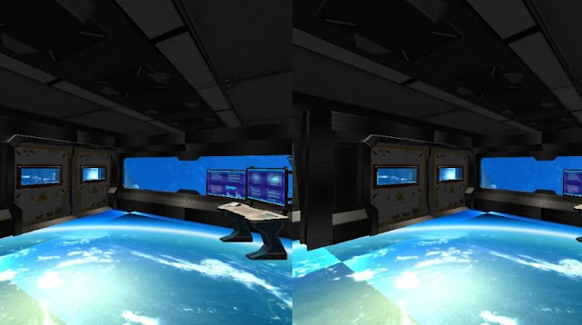 Refugio 3D Space Station