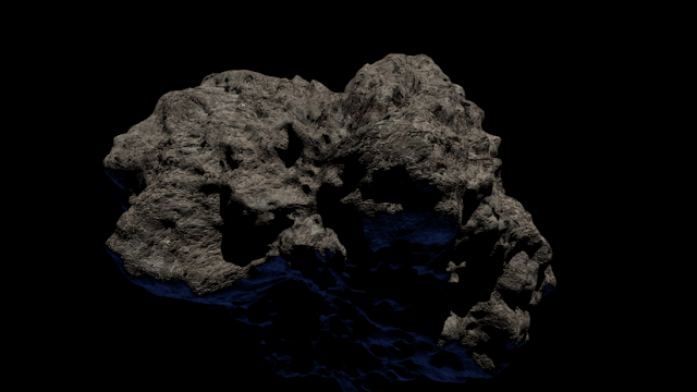 Dos grandes asteroides pasarán cerca de la Tierra este fin de semana