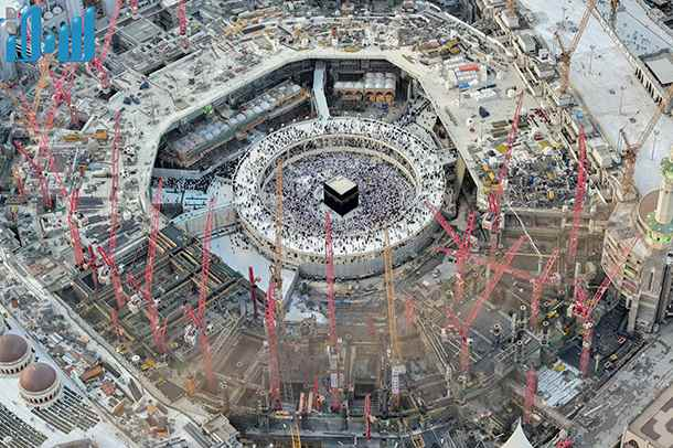 18 Photos From The Masjid Al Haraam Expansion Project