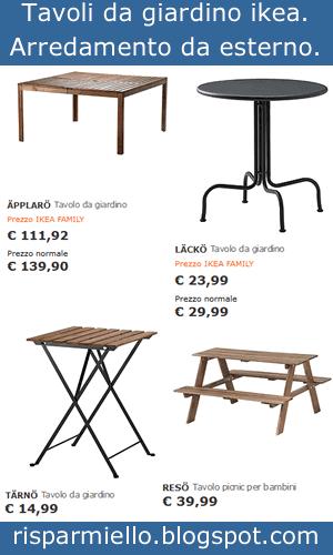 Risparmiello tavoli e sedie da giardino ikea per esterno - Ikea tavolino esterno ...