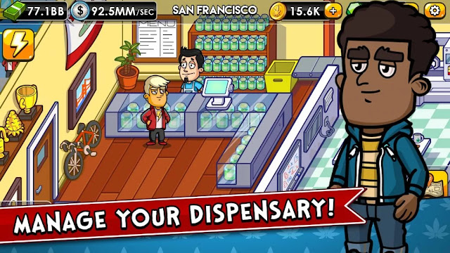 Weed Inc: Idle Tycoon Mod Apk Unlimited Money