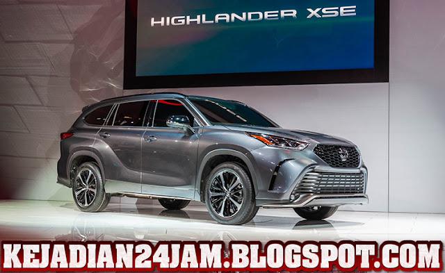 Toyota Penuhi Selera Pasar AS Dengan Kenalkan Highlander XSE