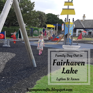 Family Day Out to Fairhaven Lake, St Annes, Lancashire