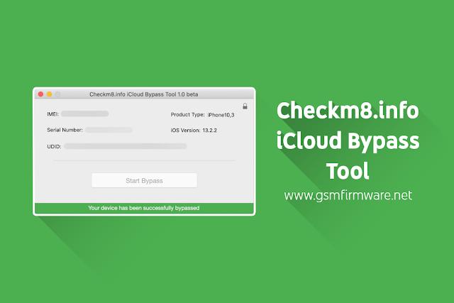Checkm8.info iCloud Bypass Tool v1.2 Beta [macOS]