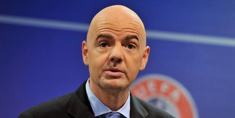 Gianni Infantino, Secretario General de la UEFA
