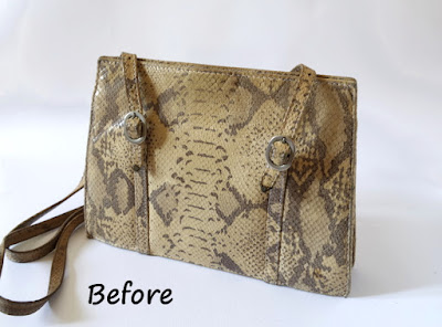 Tutorial:Upcycled Shabby-Chic Bag on Somerset Place