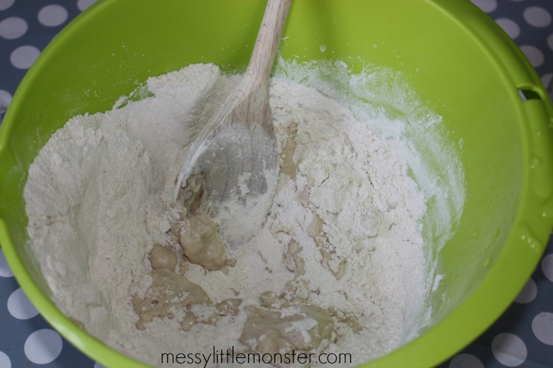 salt dough handprint recipe