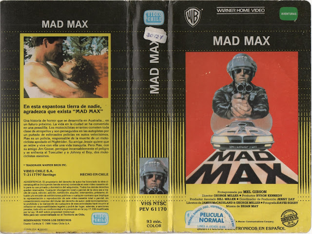 """Pelicula: """"Mad Max"""" - 1979"""