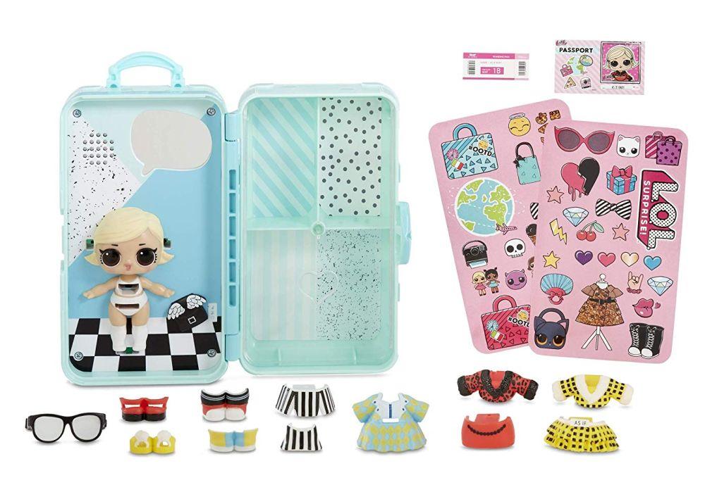 Интерактивный чемодан с куклой Лол Сюрприз As If Baby Style Suitcase