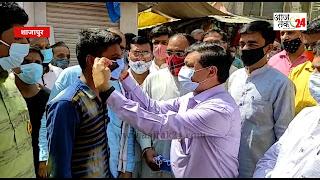 शाजापुर में मेरा मास्क मेरी सुरक्षा अभियान