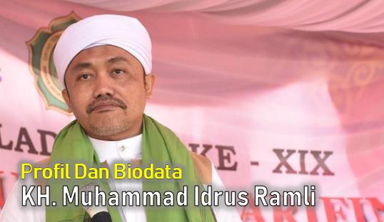 Biografi dan Biodata KH. Muhammad Idrus Ramli