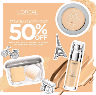 LOreal makeup, LOreal powder sale