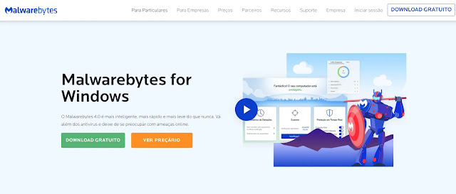 Bônus: Malwarebytes - Software anti-malware simples