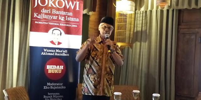 Jawab Isu PKI, Keluarga Ungkap Kehidupan Jokowi Sebelum Terjun ke Politik