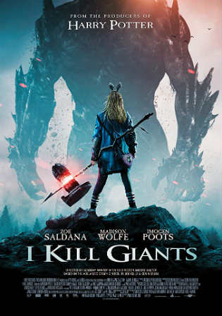 I Kill Giants 2018 WEB-DL 850MB English 720p ESub Watch Online Full Movie Download bolly4u