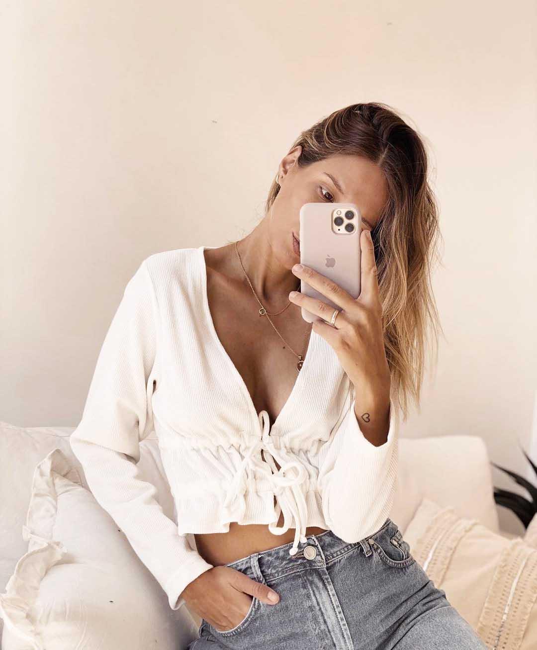pupera blusa corta invierno 2021 moda mujer