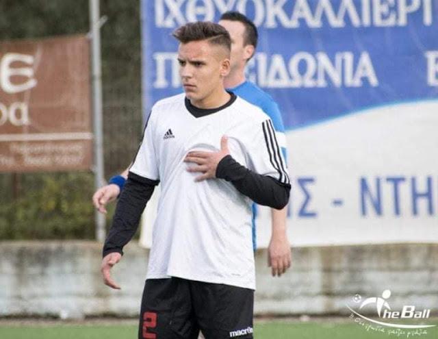 μεταγραφή της ομάδας του Αετού Αγιάς για την ποδοσφαιρική χρονιά 2020/21 ο 16χρονος Δημήτρης Γκουλιούμης από την Δόξα Γαρδικίου..