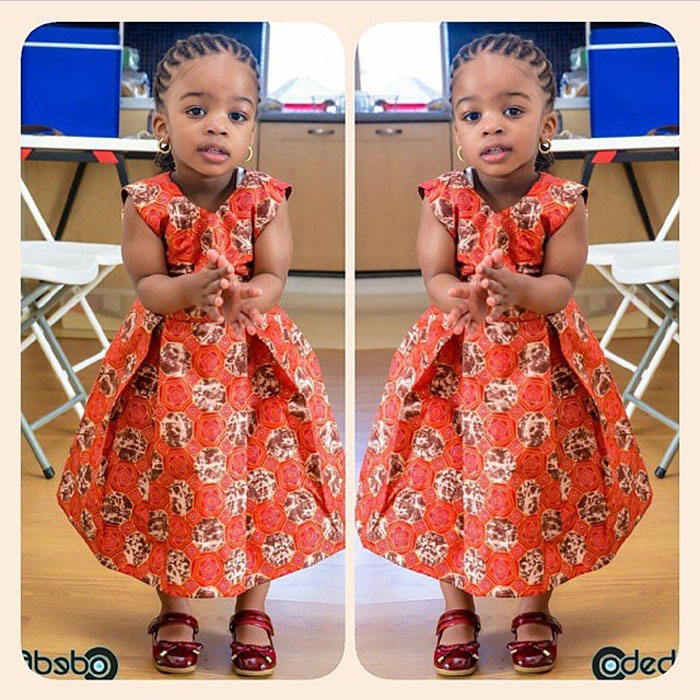 cute ankara styles for baby girl (9)