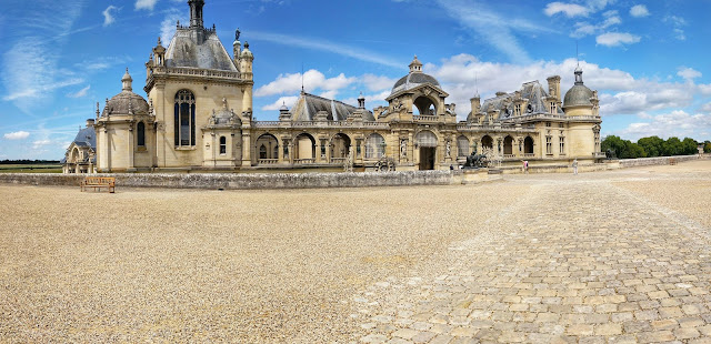 South Side of Chateau De Chantilly , France