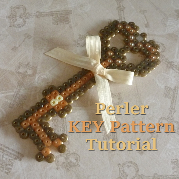 How to Make a Perler Bead Key Pattern: Ideal Design for Special Birthdays, New Homes and More