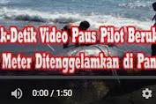 Detik-Detik Video Paus Pilot Berukuran Lima Meter Ditenggelamkan di Pantai