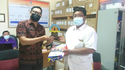 Kepala SMK TI Bali Global Badung, Audiensi Perbekel Desa Padangsambian Kaja (4)