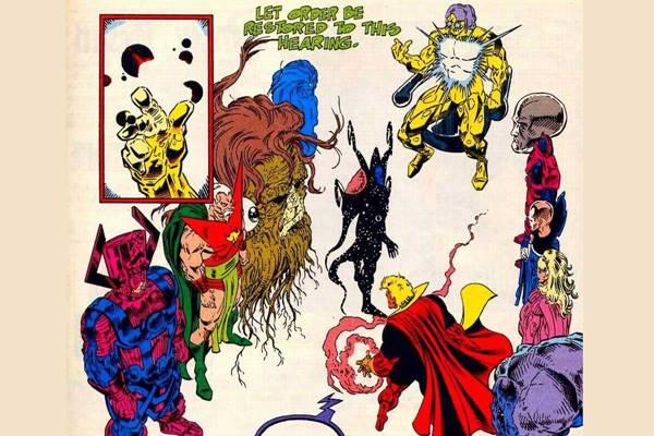 living tribunal adalah Makhluk Terkuat di Dunia Marvel