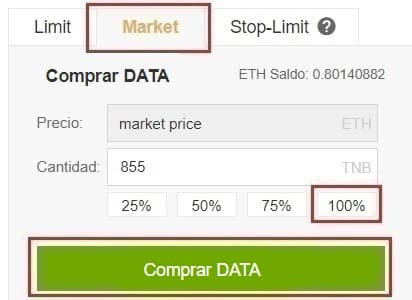 Comprar e Invertir en Criptomoneda Streamr DATAcoin (DATA) 2 pasos fáciles y sencillo