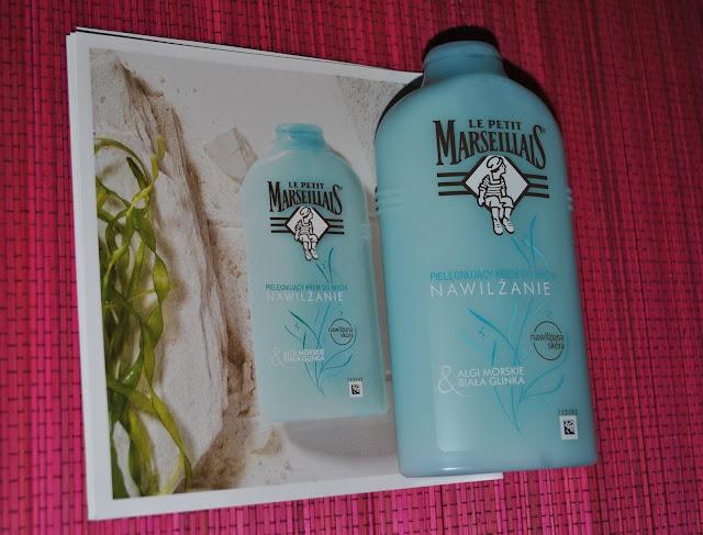 Pielęgnujący krem do mycia nawilżanie algi morskie & biała glinka