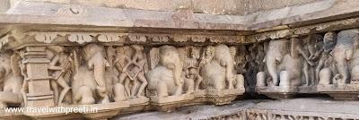 नंदी मंदिर खजुराहो - Nandi Temple Khajuraho