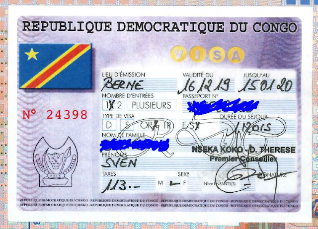 How to get the DRC visa?