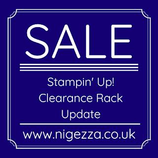 Nigezza Creates Clearance Rack Update & Ornate Garden Suite