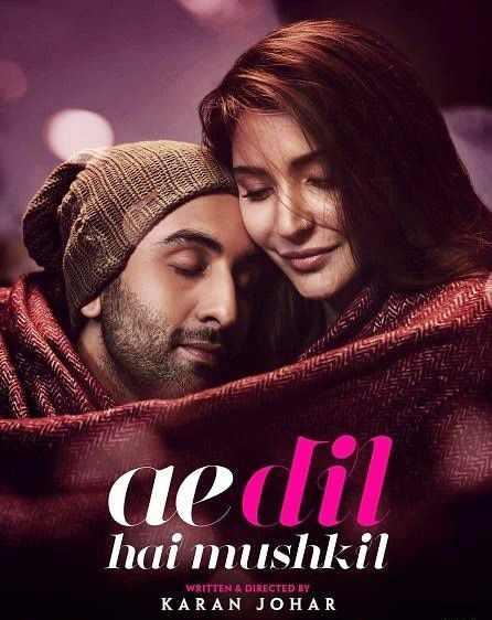 Ae Dil Hai Mushkil (2016) Full Movie Download 720p, 480p Filmywap