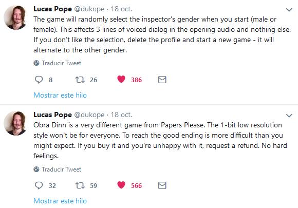 Lucas Pope Obra Dinn