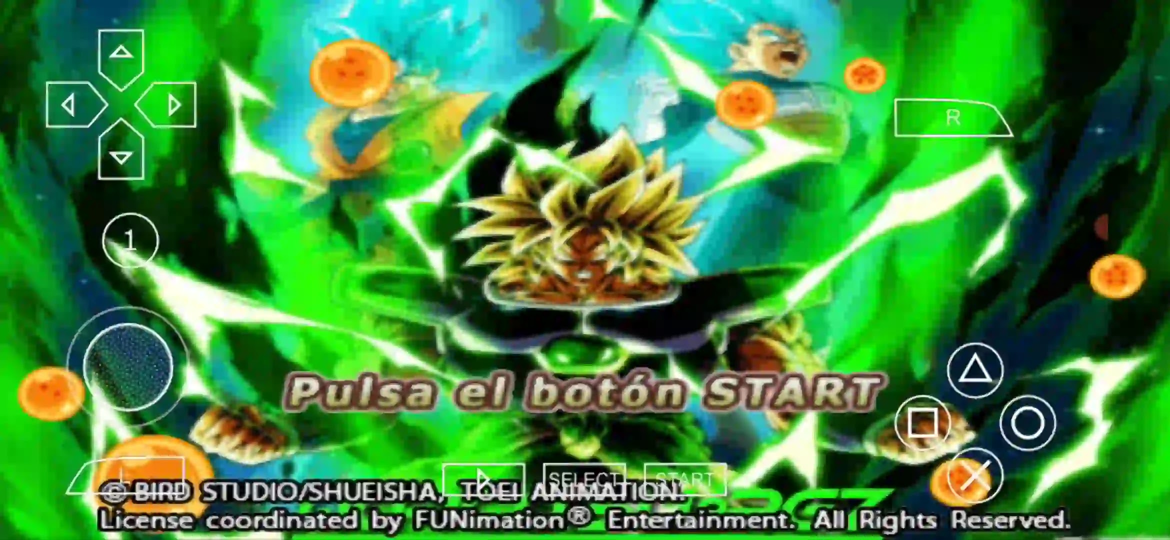 Dragon Ball Super PPSSPP ISO Download
