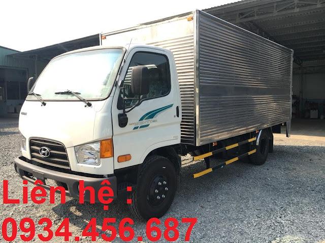 Hyundai 110sp thùng bạt, thùng kín