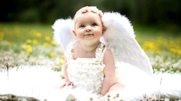 Cute Angel Baby Images