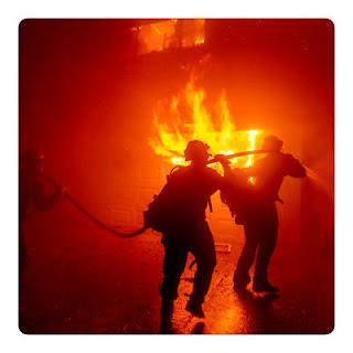 Incendio Forestal masivo de California provocado por Policías